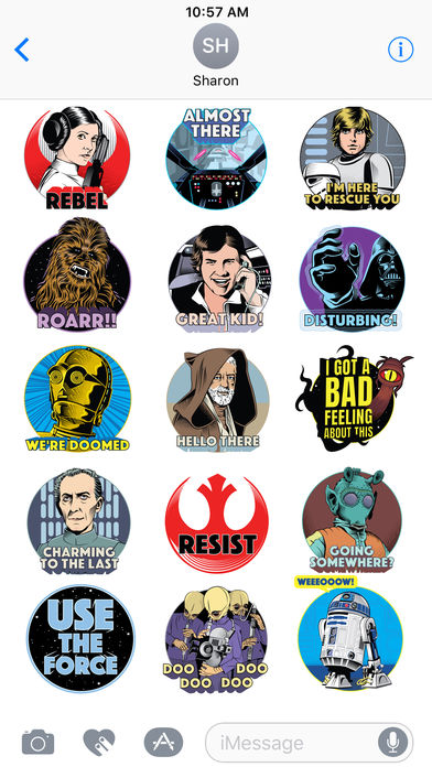 Star Wars Stickers.