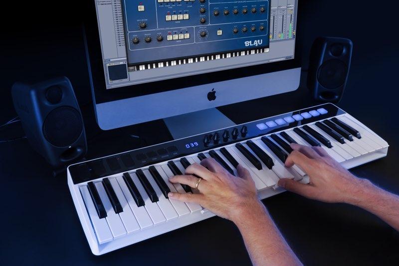 iRig Keys I/O met iMac
