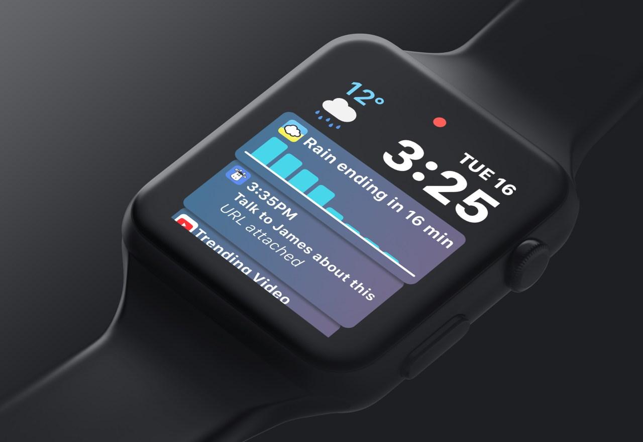 watchOS 5 concept