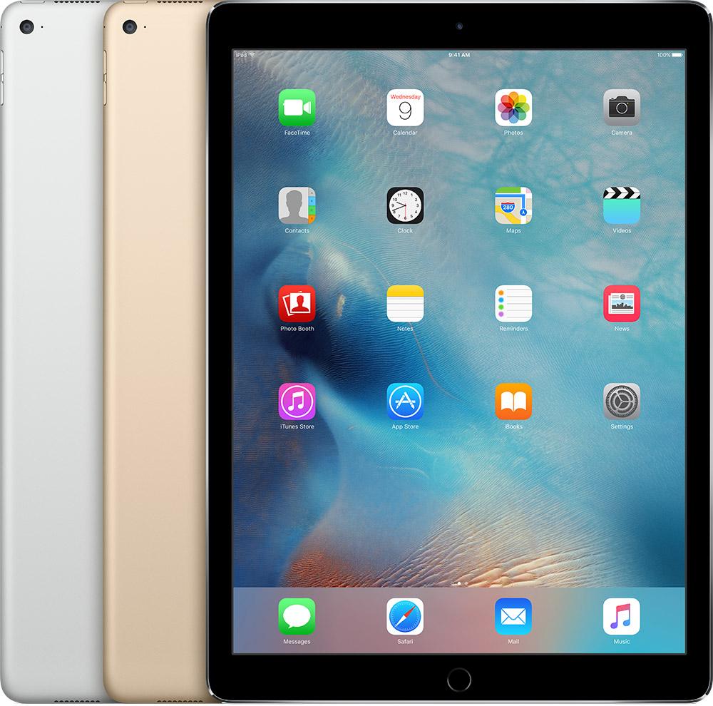 iPad Pro 12,9-inch uit 2015.