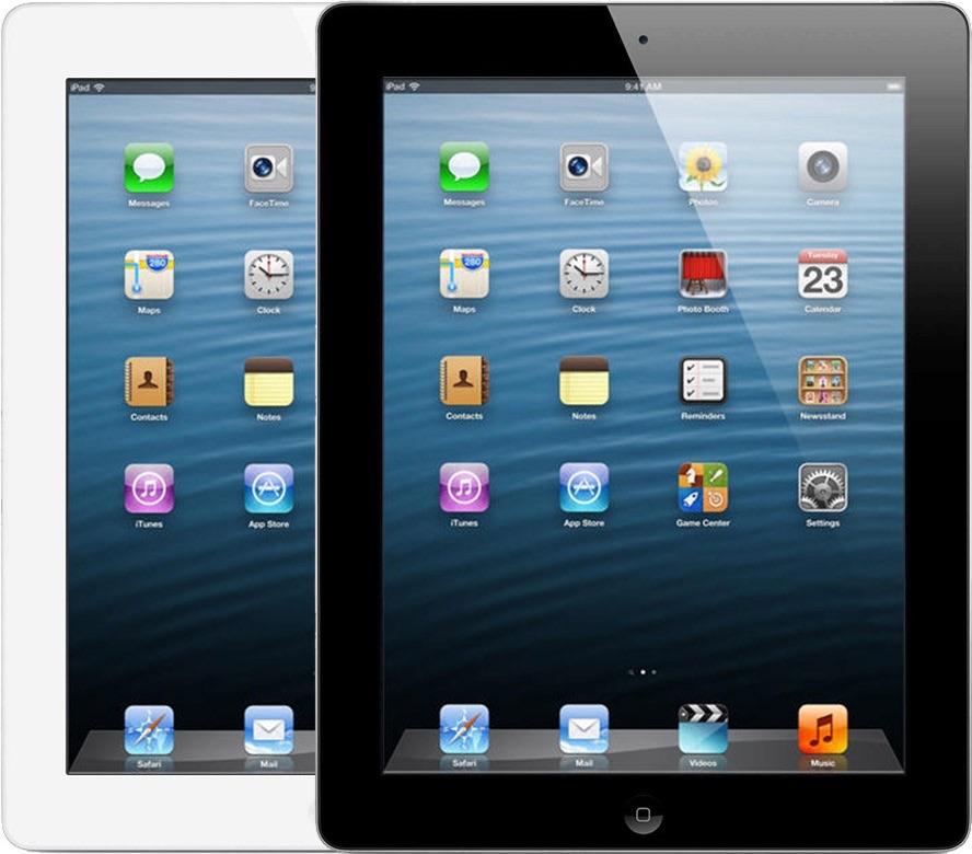 iPad 4 uit 2012.