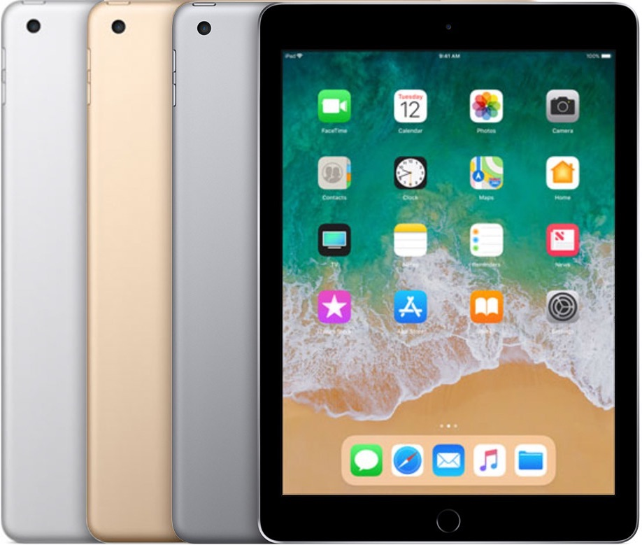 iPad 9,7-inch uit 2017.