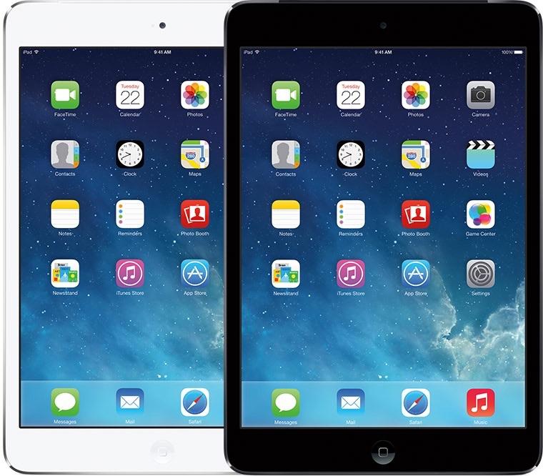 iPad mini 2 uit 2013.