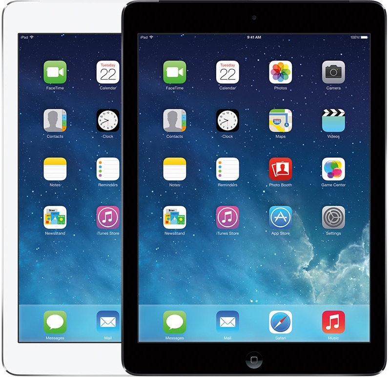 iPad Air uit 2013.