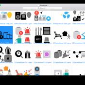 Icoontjes verklappen functies van HomePod, waaronder meerdere unieke gebruikers