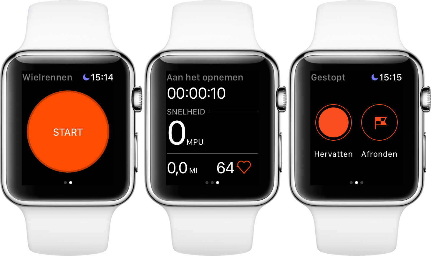 Strava op Apple Watch