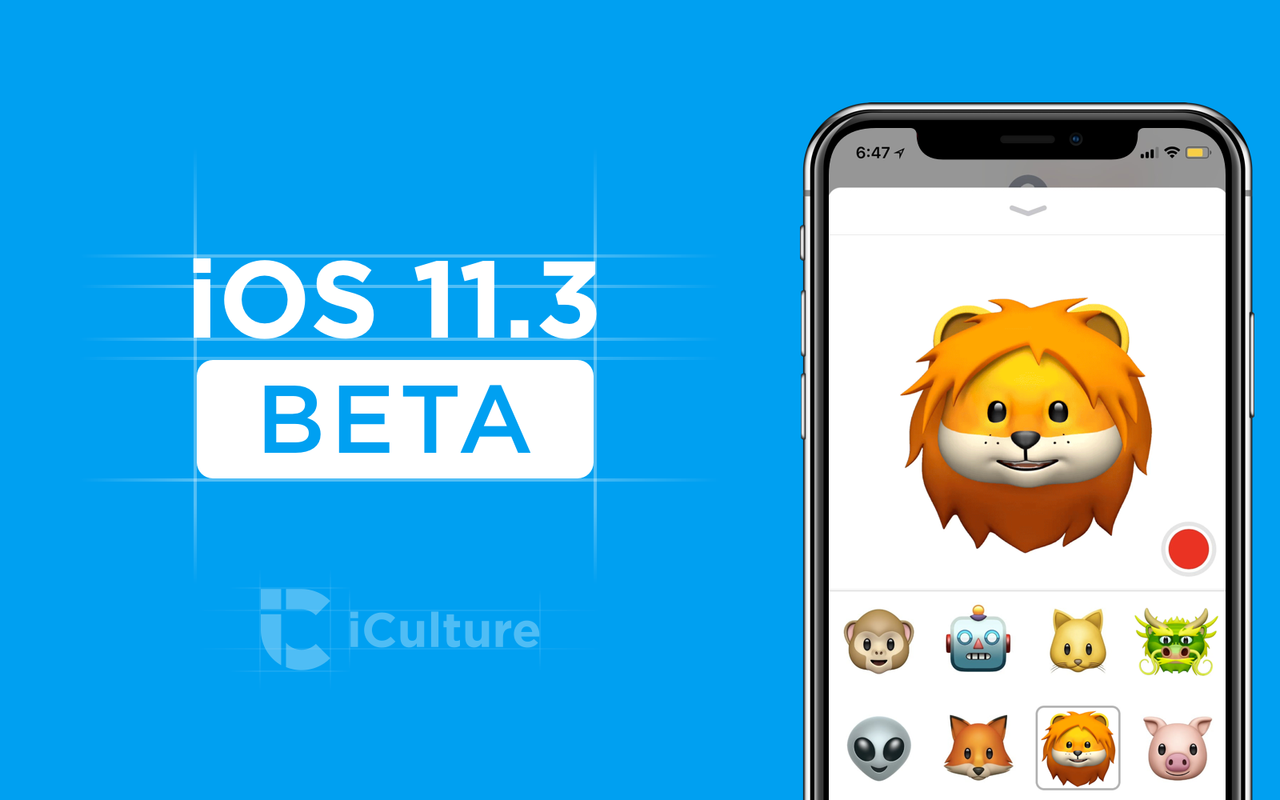 iOS 11.3 beta nieuw.