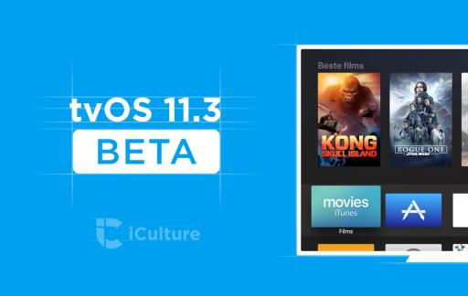 tvOS 11.3 beta nieuw.