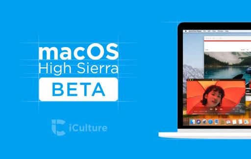 macOS High Sierra beta nieuw.