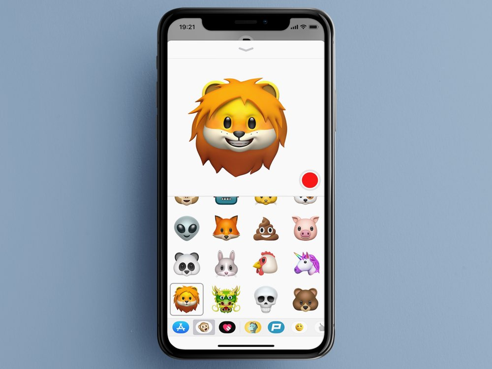 iOS 11.3 animoji
