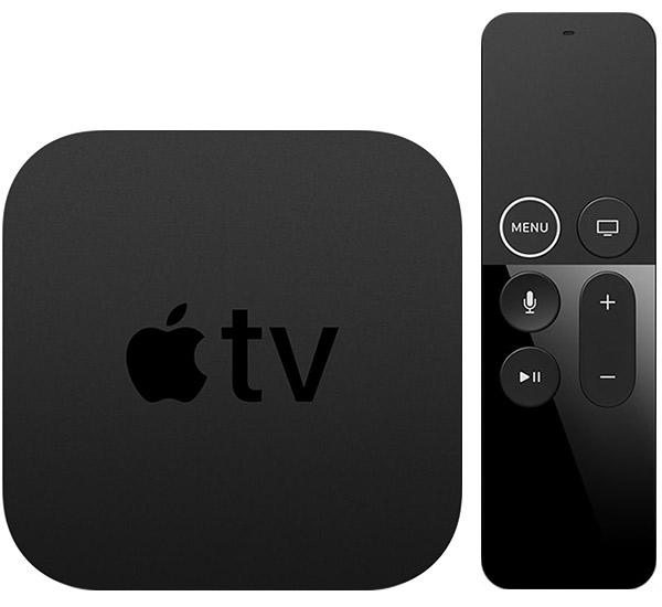 Apple TV 4K met Siri Remote.