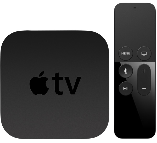 Apple TV 4 met Siri Remote.