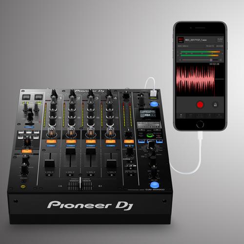 DJM-REC met mixer.