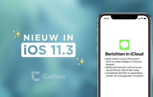 Nieuw in iOS 11.3.