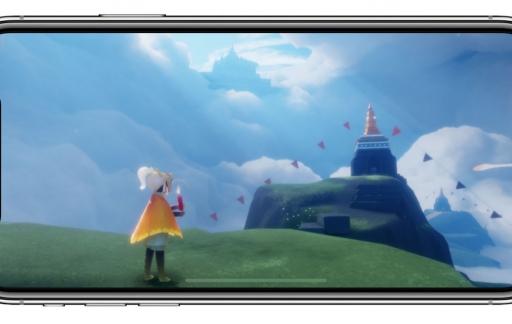 Sky game op iPhone