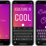 Instagram Type: tekst gebruiken in verhalen