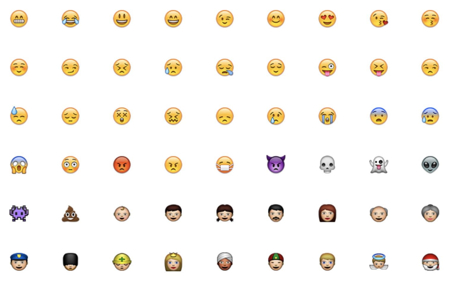 iPhone OS 2.2 emoji