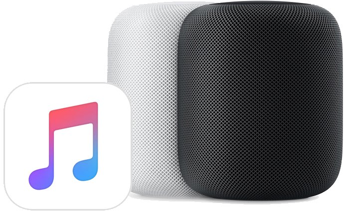 HomePod audiobronnen Apple Music