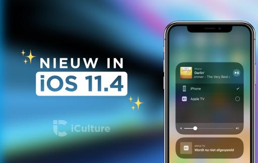 iOS 11.4 nieuwe functies met AirPlay 2.