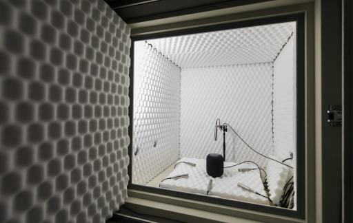 Apple's audiolab met de HomePod voor Siri.