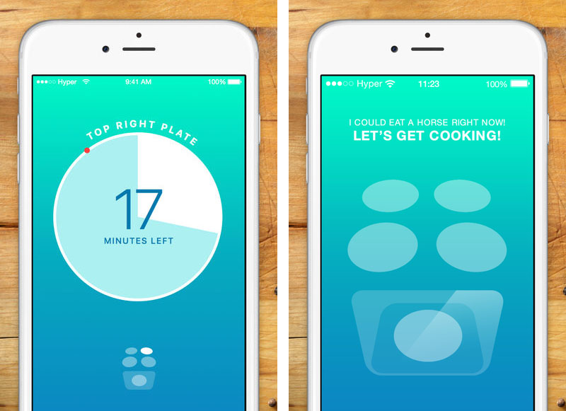 Thyme kookwekker op iPhoneThyme kookwekker op iPhone