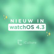 Nieuw in watchOS 4.3: dit zijn de belangrijkste nieuwe functies