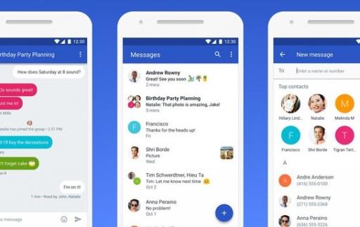 Android Berichten komt naar desktop