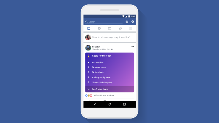 Facebook Lists.