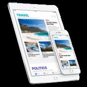 Apple News op de iPhone en iPad.