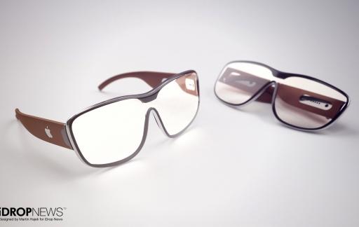 Apple AR-bril concept door iDropNews en Martin Hajek: twee modellen