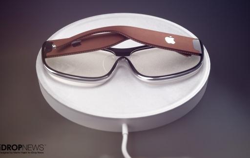 Apple AR-bril concept door iDropNews en Martin Hajek: oplader