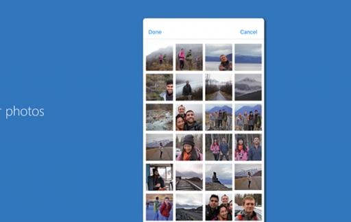 Foto's overzetten met Microsoft Photos Companion.