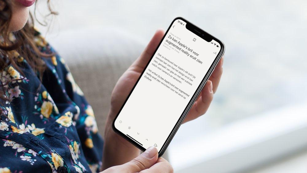 Reeder RSS-app voor iPhone