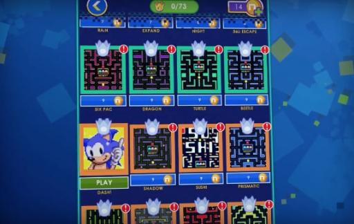 Sonic en Pac Man