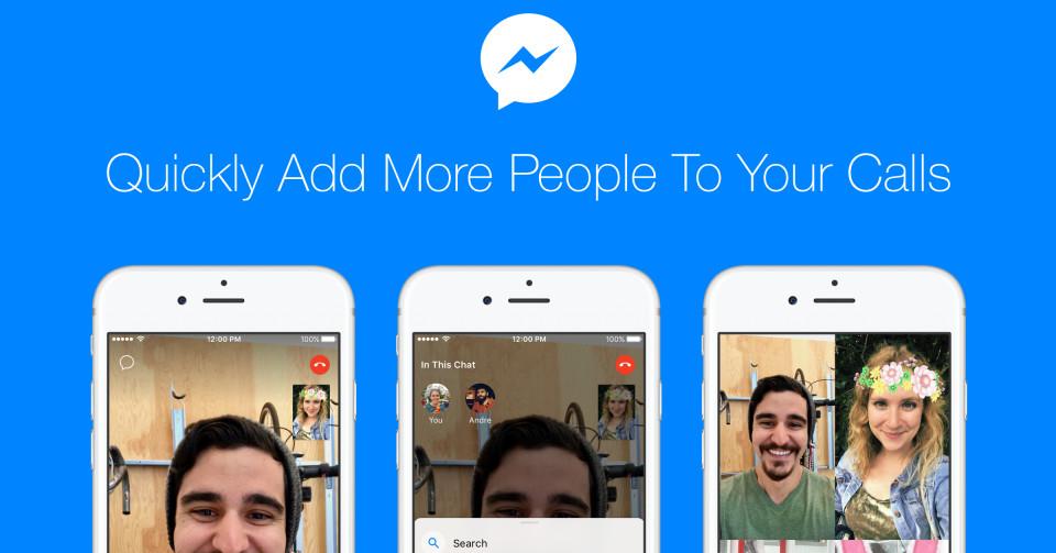 Facebook Messenger videogesprekken.