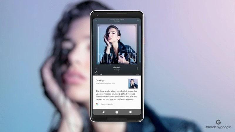 Google Lens: artiest opzoeken