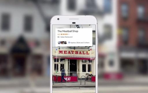Google Lens: restaurantbeoordeling bekijken