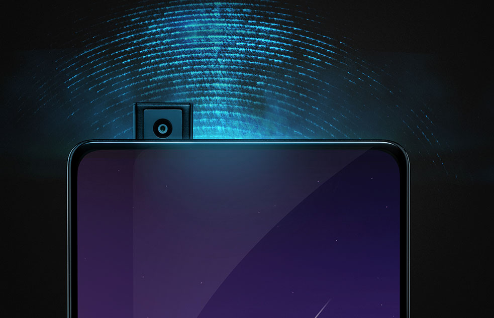 Vivo pop-up camera