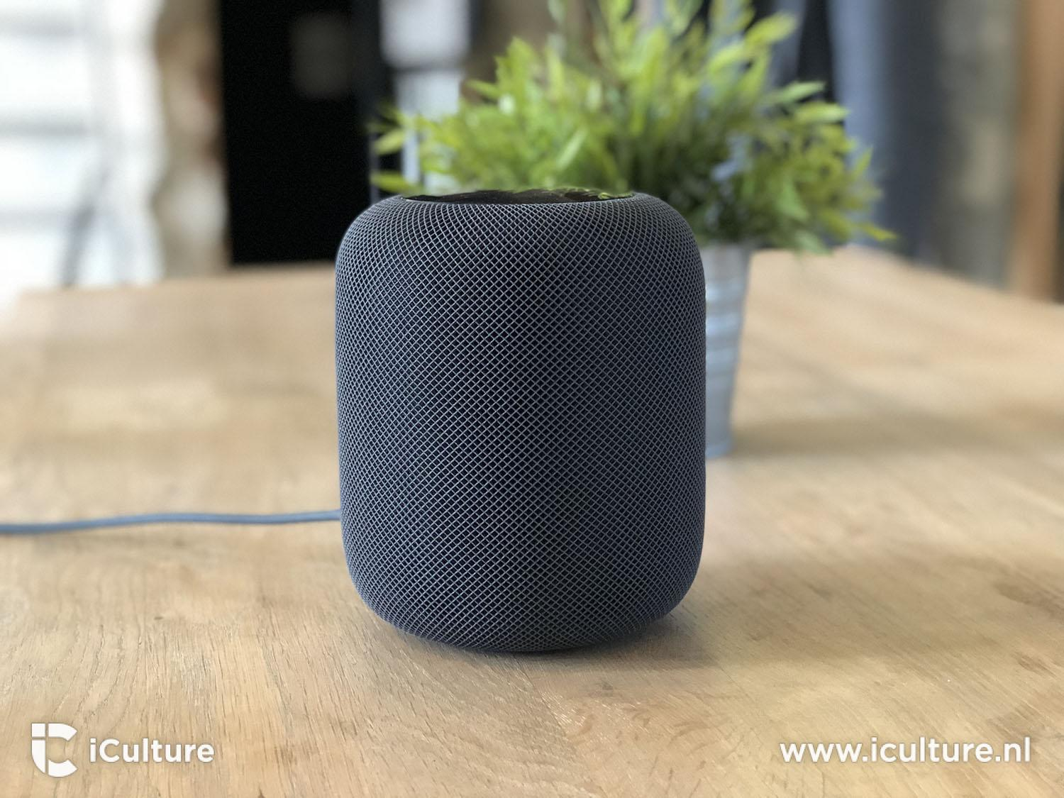HomePod review: HomePod op tafel