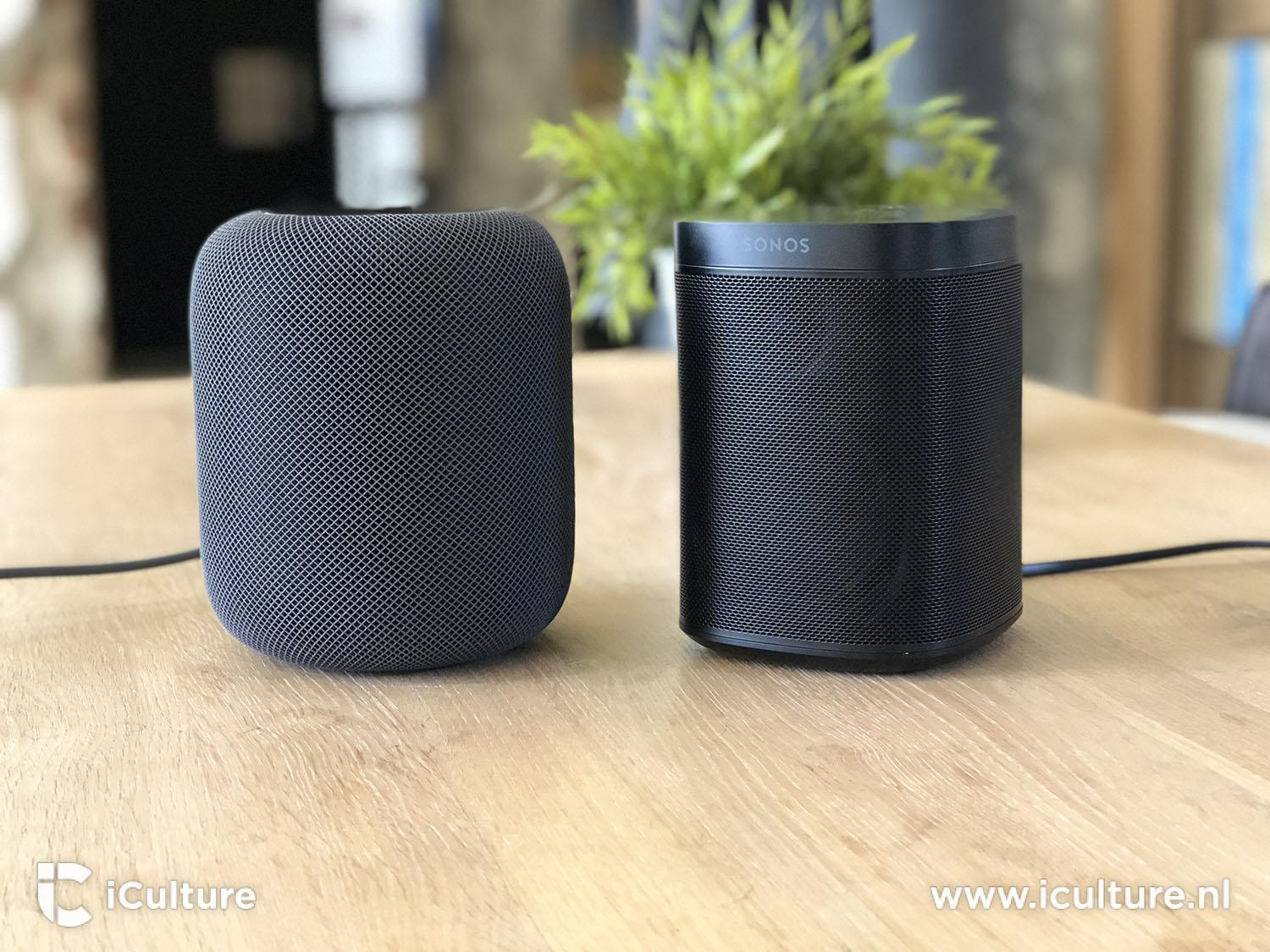 HomePod review: HomePod vs Sonos One