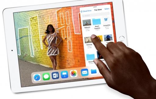 iPad 2018 gebruiken.