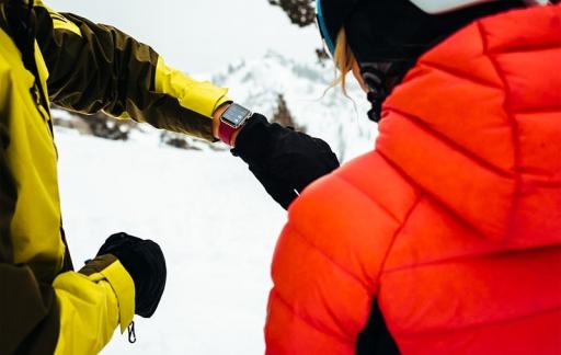 Apple Watch ski-prestaties