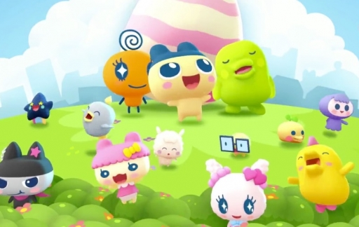 Personages in My Tamagotchi Forever.