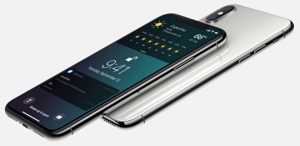iOS 12-concept op iPhone X.