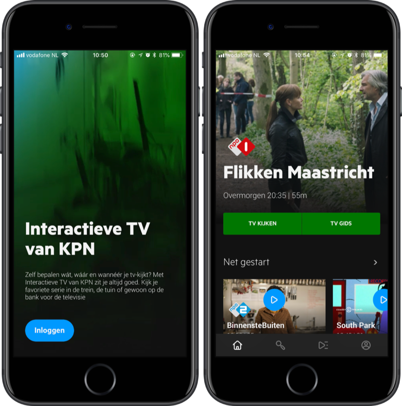 KPN interactieve tv.