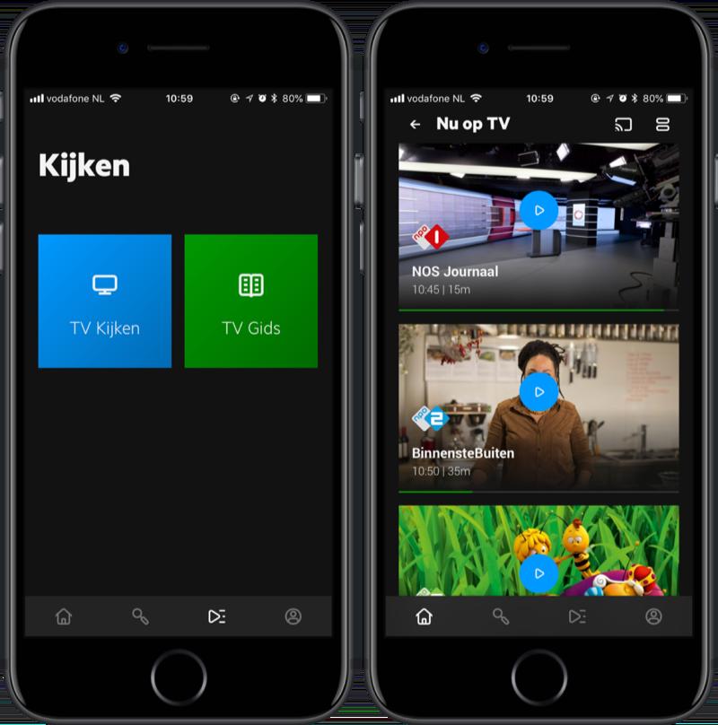 KPN Interactieve TV met Chromecast.