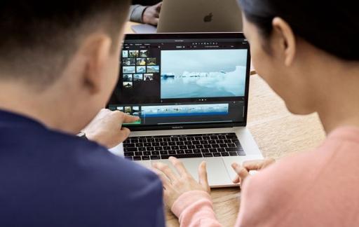 Videobewerking op MacBook