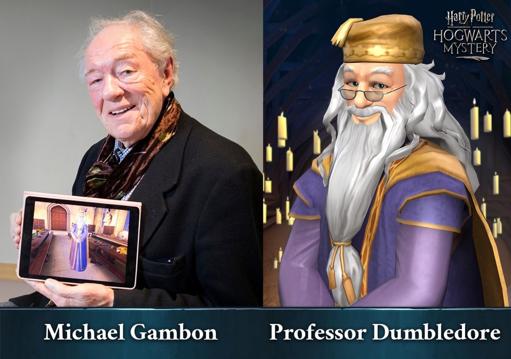 Harry Potter Michael Gambon.