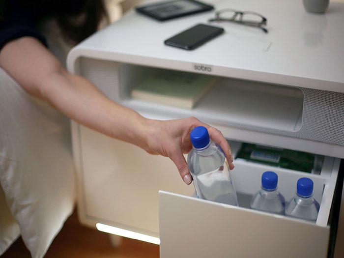 Sobro Smart Side Table gekoeld water