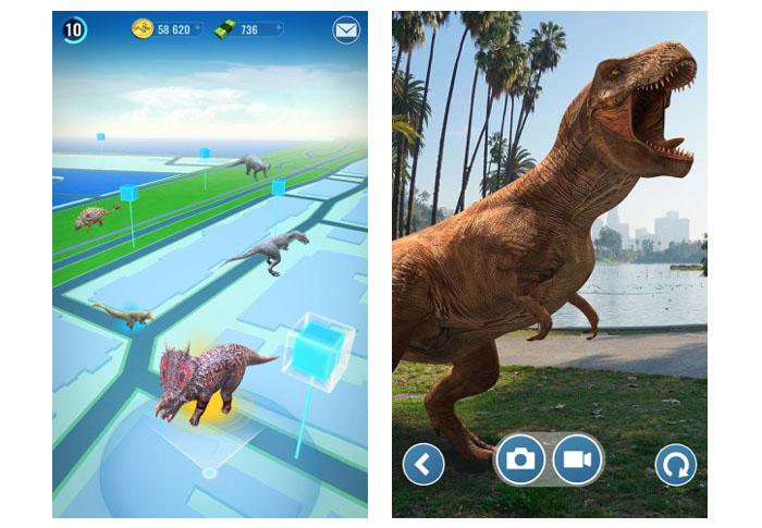 Jurassic World Alive screenshots